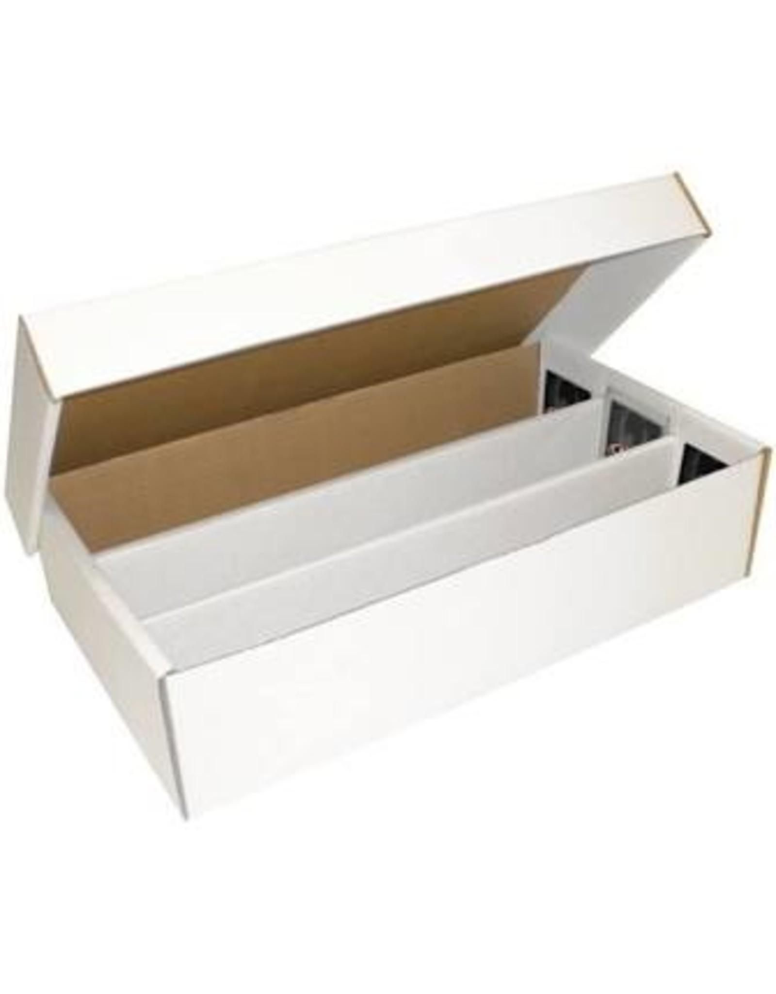 BCW Cardboard Box - 3000 Count