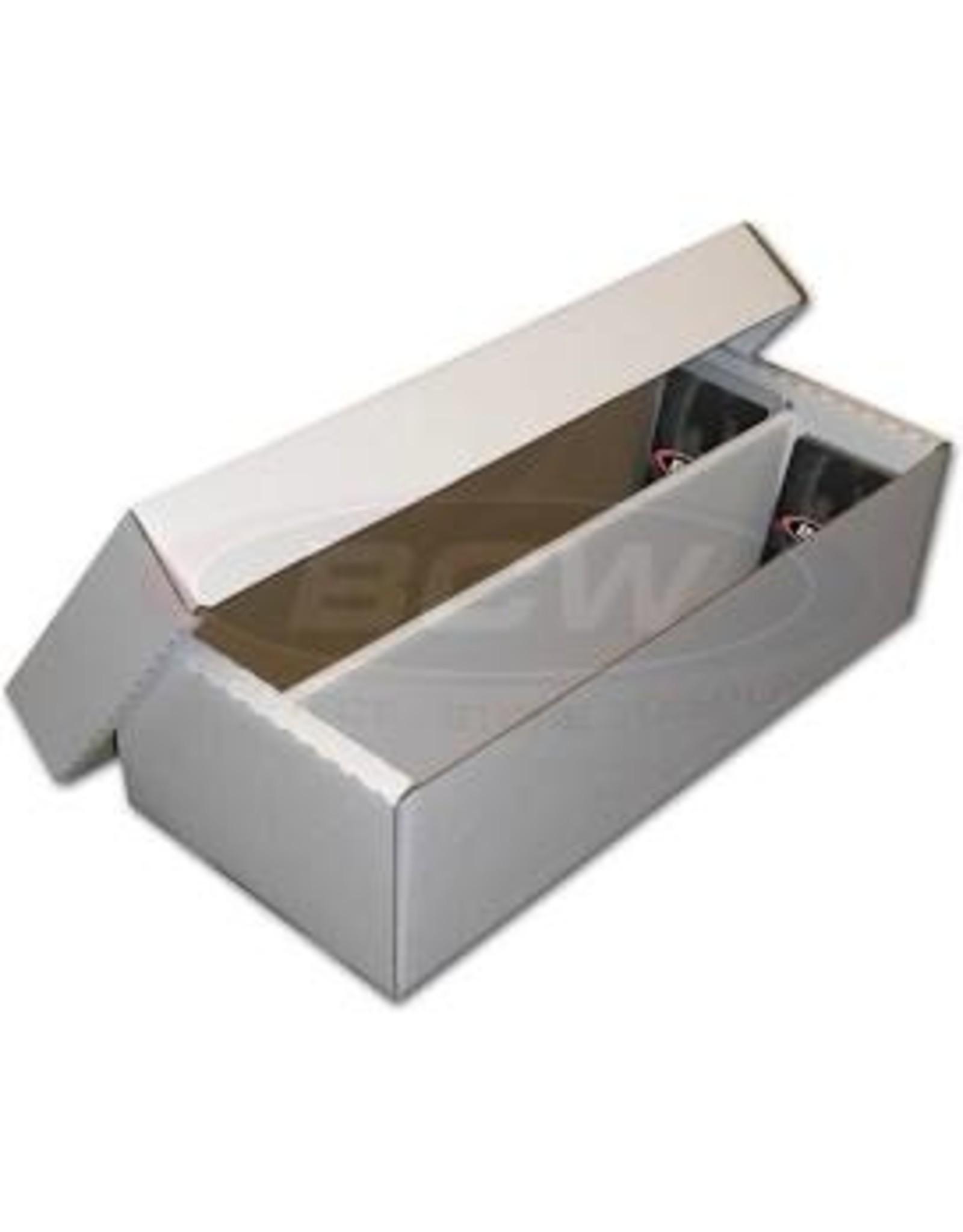 BCD Cardboard Box - 1600 Count