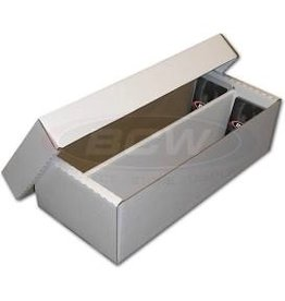 BCW Cardboard Box - 1600 Count