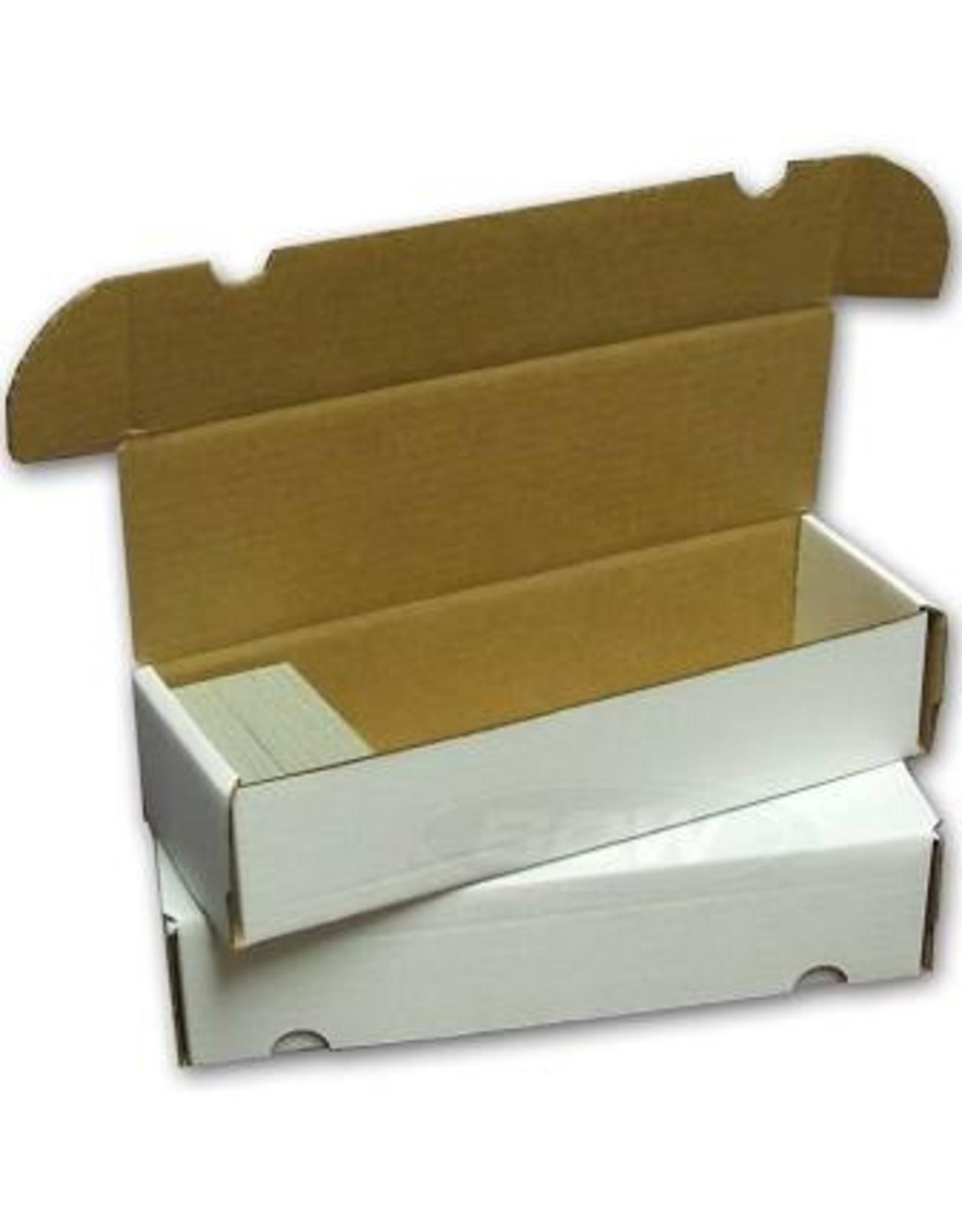BCD Cardboard Box - 660 Count