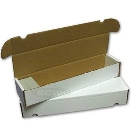 BCD Cardboard Box - 930 Count