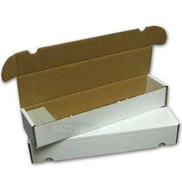 BCW Cardboard Box - 930 Count