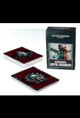Warhammer 40K Adeptus Mechanicus Datacards
