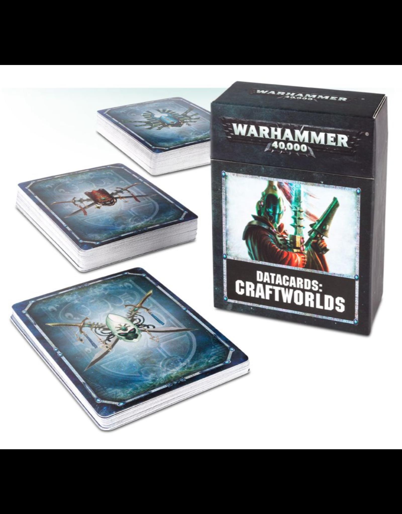 Warhammer 40K Datacards: Craftworlds