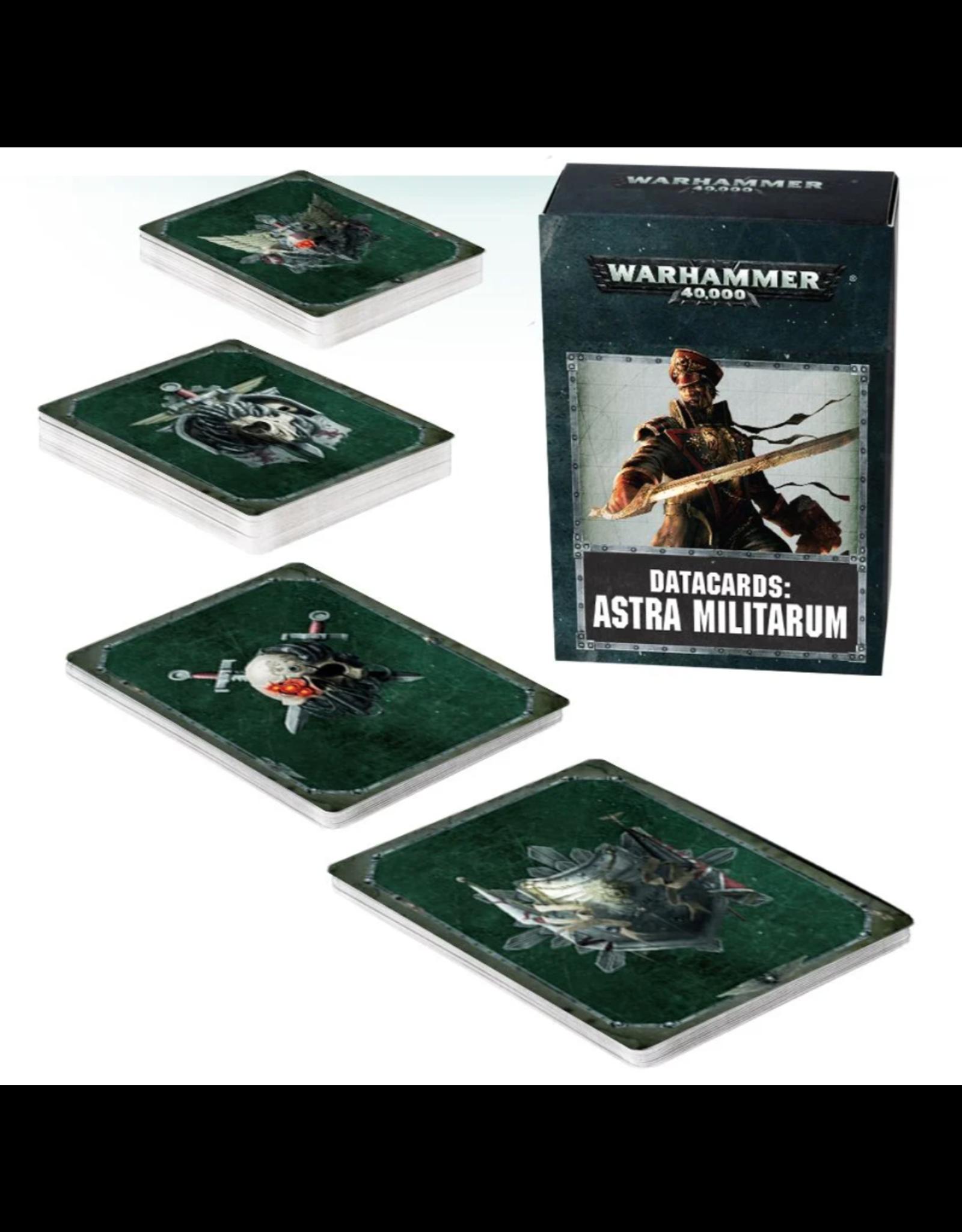 Warhammer 40K Datacards: Astra Militarum