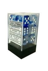 Chessex DM6 Nebula 16mm D6 Drk Blue/Wt