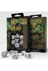 Dice 7-set Celtic 3D Revised BKwh