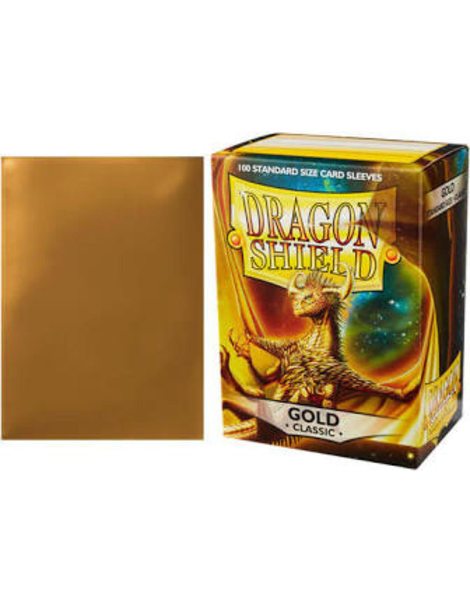 Dragon Shield: (100) Classic Gold