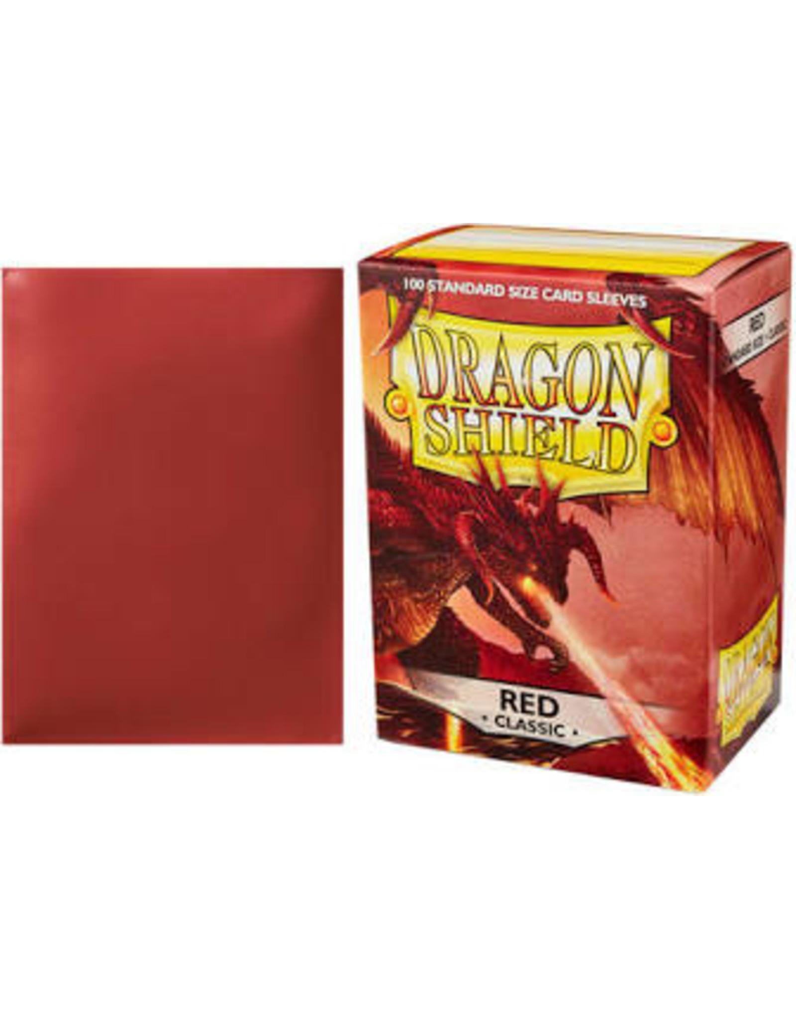 Dragon Shield: (100) Classic Red DIS