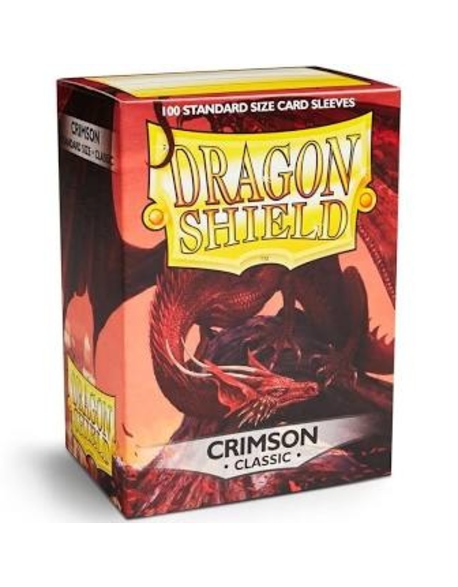 Dragon Shield: (100) Classic Crimson