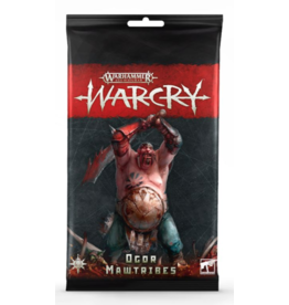 Tactical Miniature Games Warcry: Ogor Mawtribes Card Pack