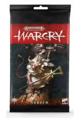 Tactical Miniature Games Warcry: Skaven Card Pack