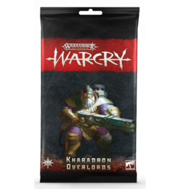 Tactical Miniature Games Warcry: Kharadron Overlords Card Pack