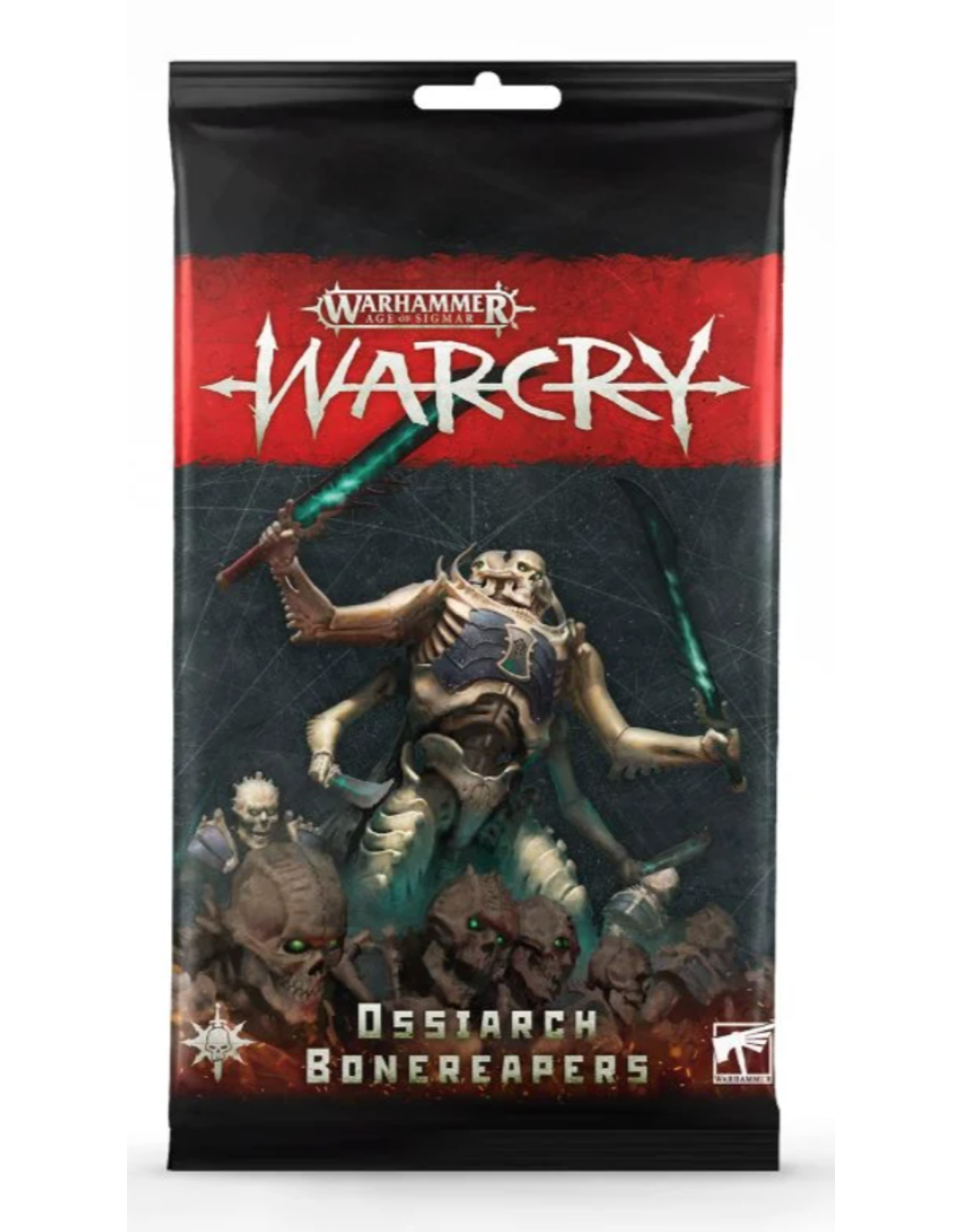 Tactical Miniature Games Warcry: Ossiarch Bonereapers Card Pack