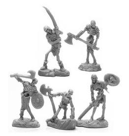 Reaper Bones Black: Bog Skeletons (5)