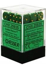 Chessex Golden Recon 12mm d6 (36)