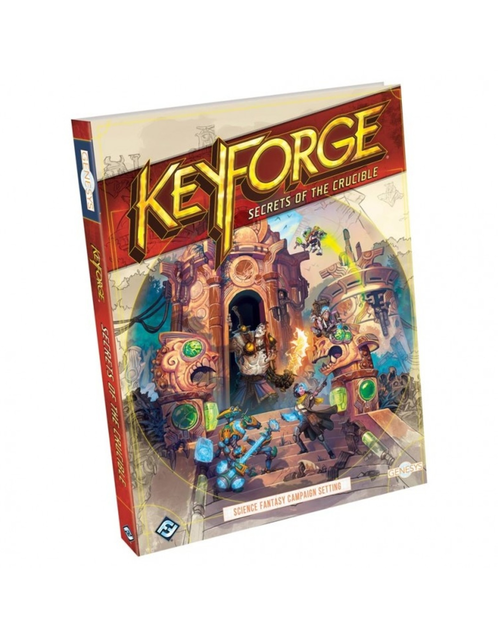 Role Playing Genesys: KeyForge: Secrets of the Crucible