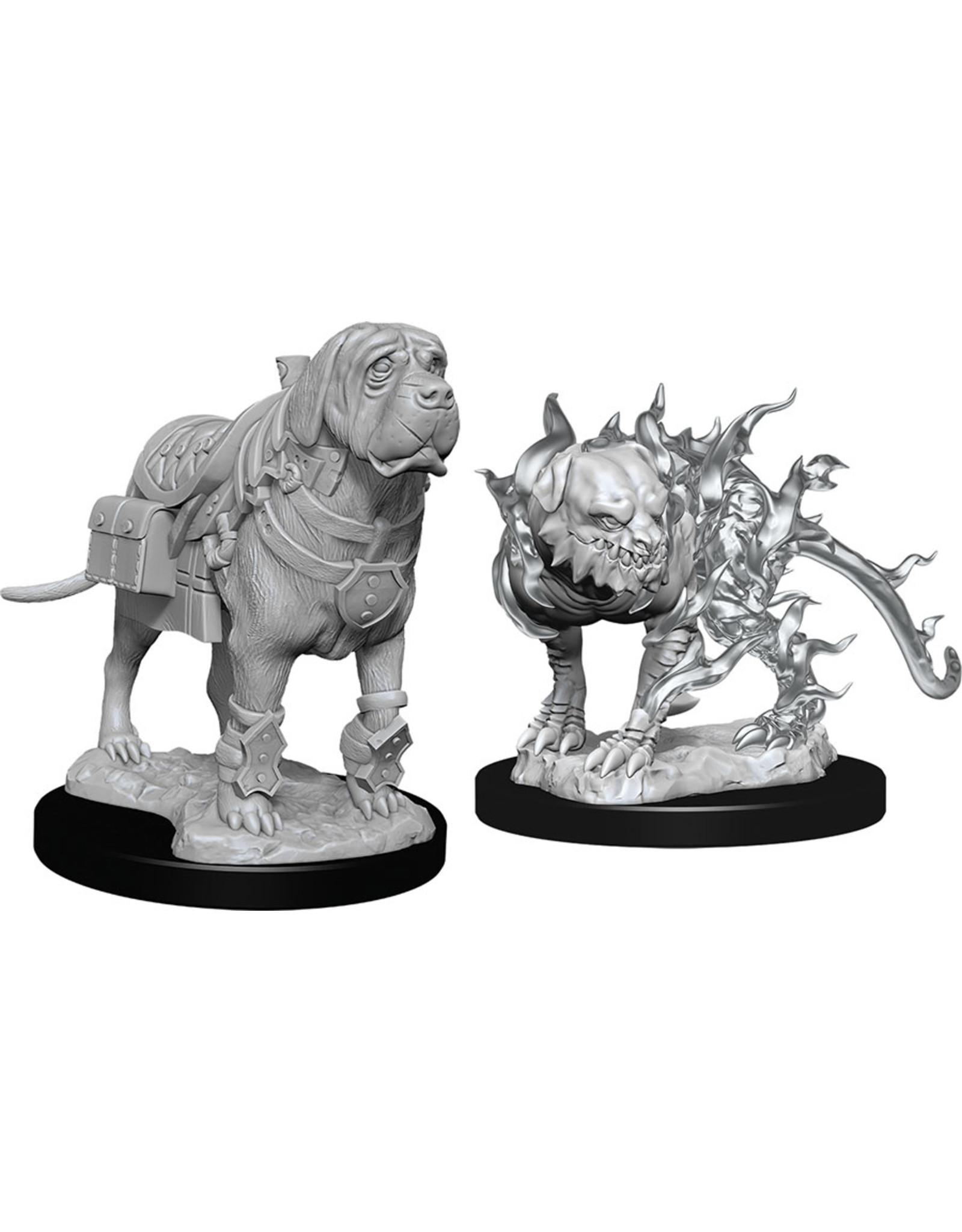 Wiz Kids D&D NMU: Mastiff & Shadow Mastiff W11