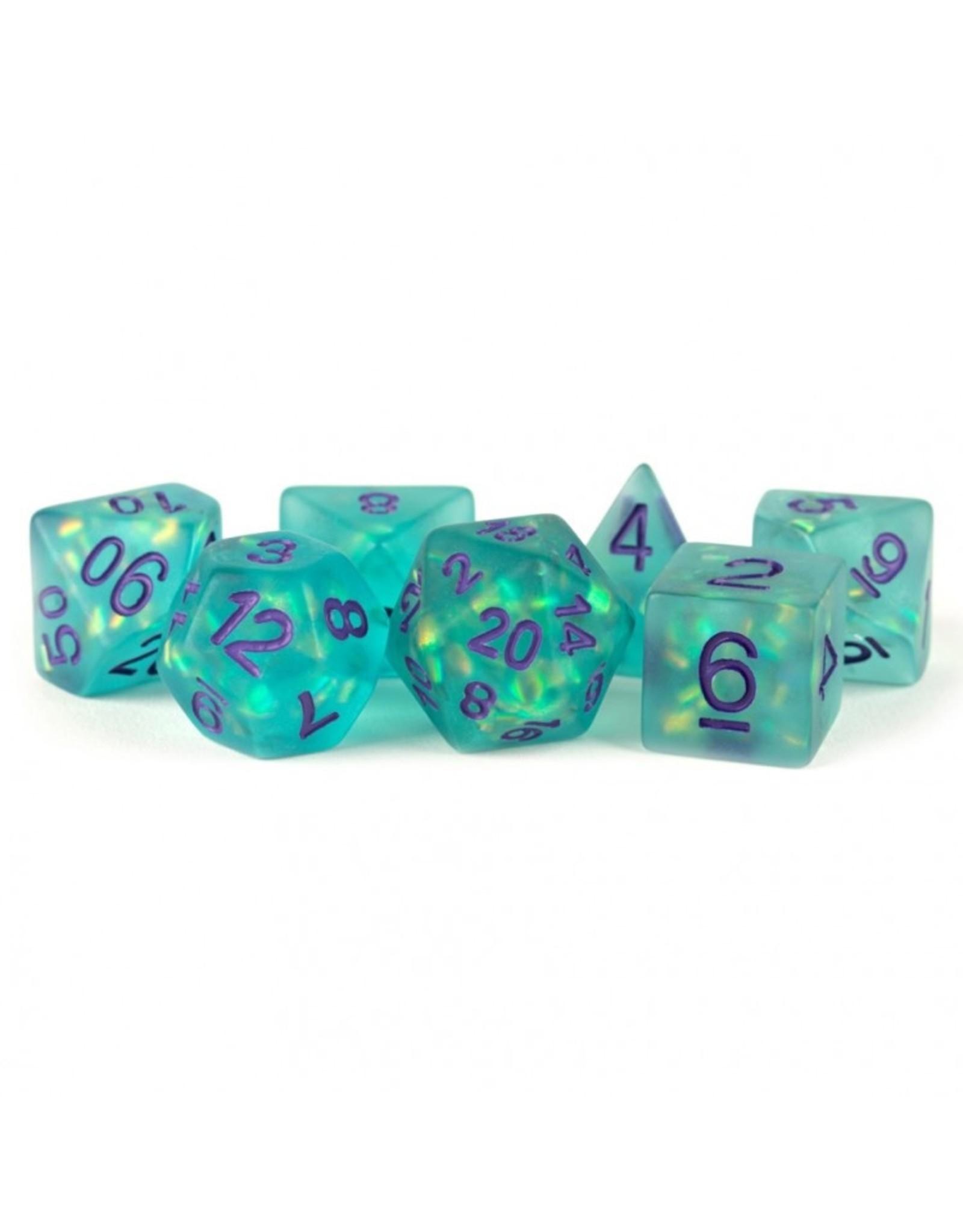 Dice 7-Set: Icy Opal TLpu