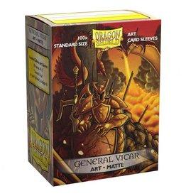 Dragon Shield: Art: Matte Vicar Port (100)