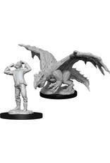 Wiz Kids D&D NMU: Green Dragon Wyrmling & Afflicted Elf W11