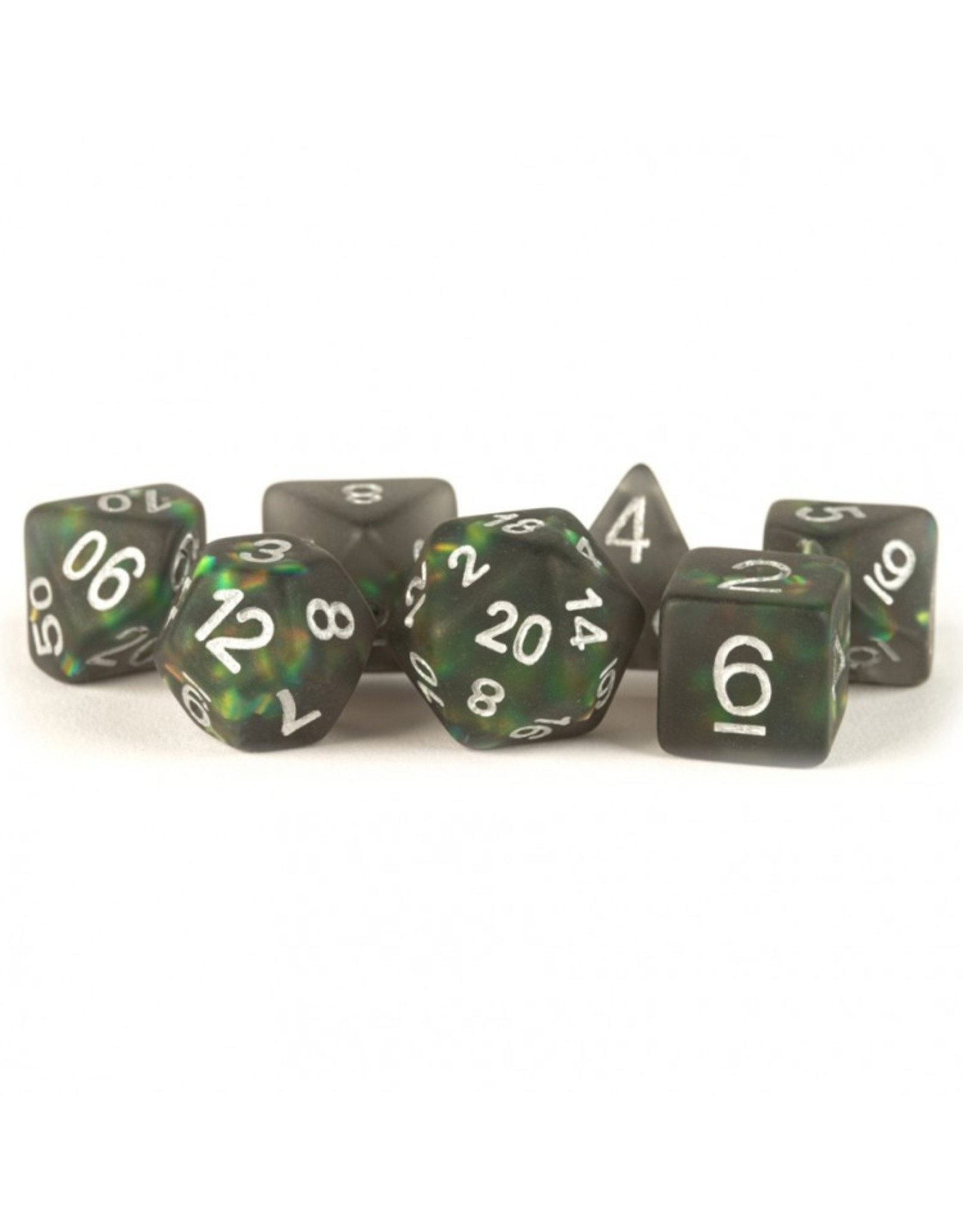 Dice 7-Set: Icy Opal BKsv
