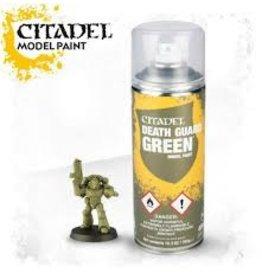 Citadel Citadel Paints: Spray - Citadel Death Guard Green