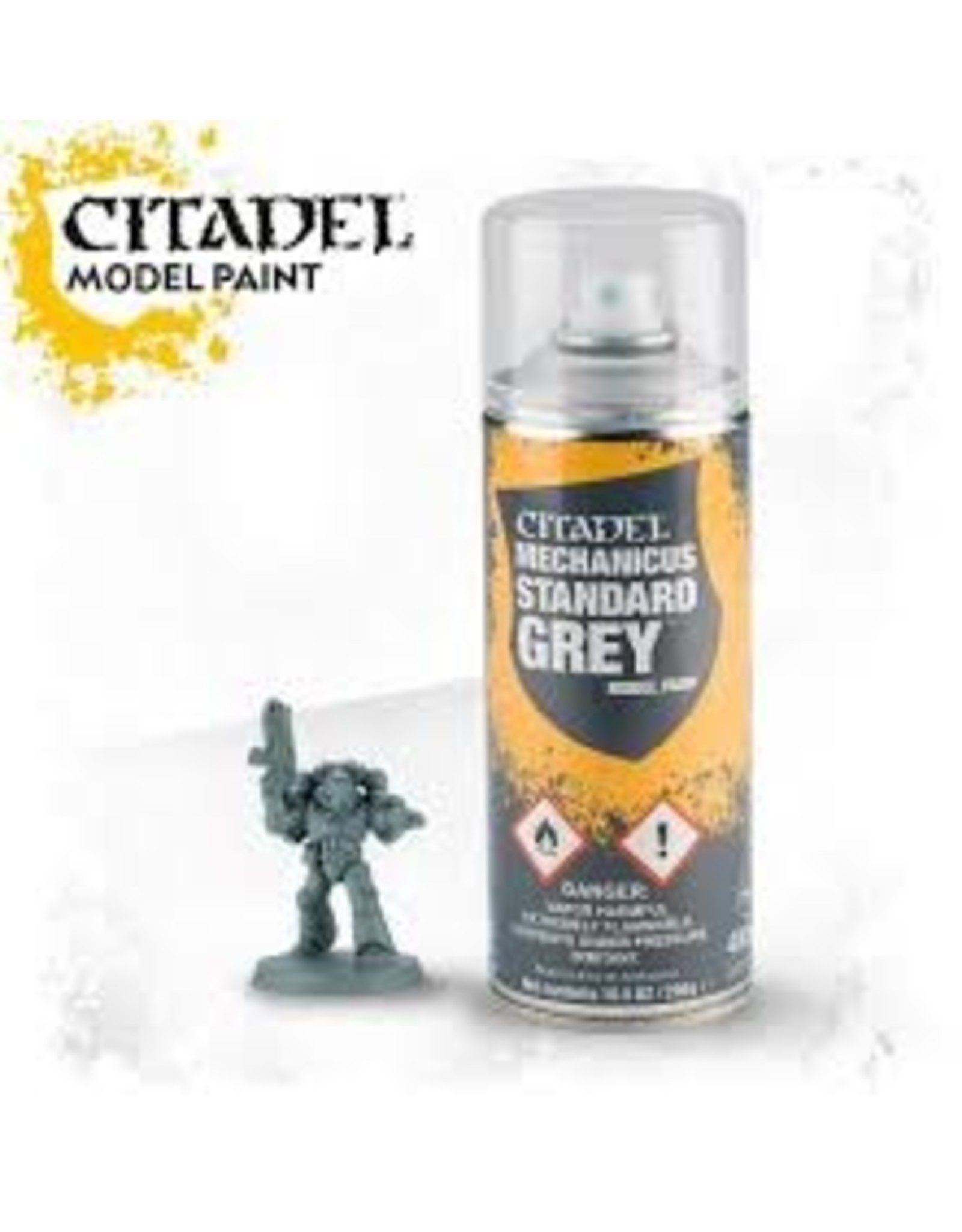 Citadel Citadel Paints: Spray - Mechanicus Standard Grey