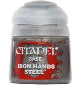 Citadel Citadel Paints: Base - Iron Hands Steel