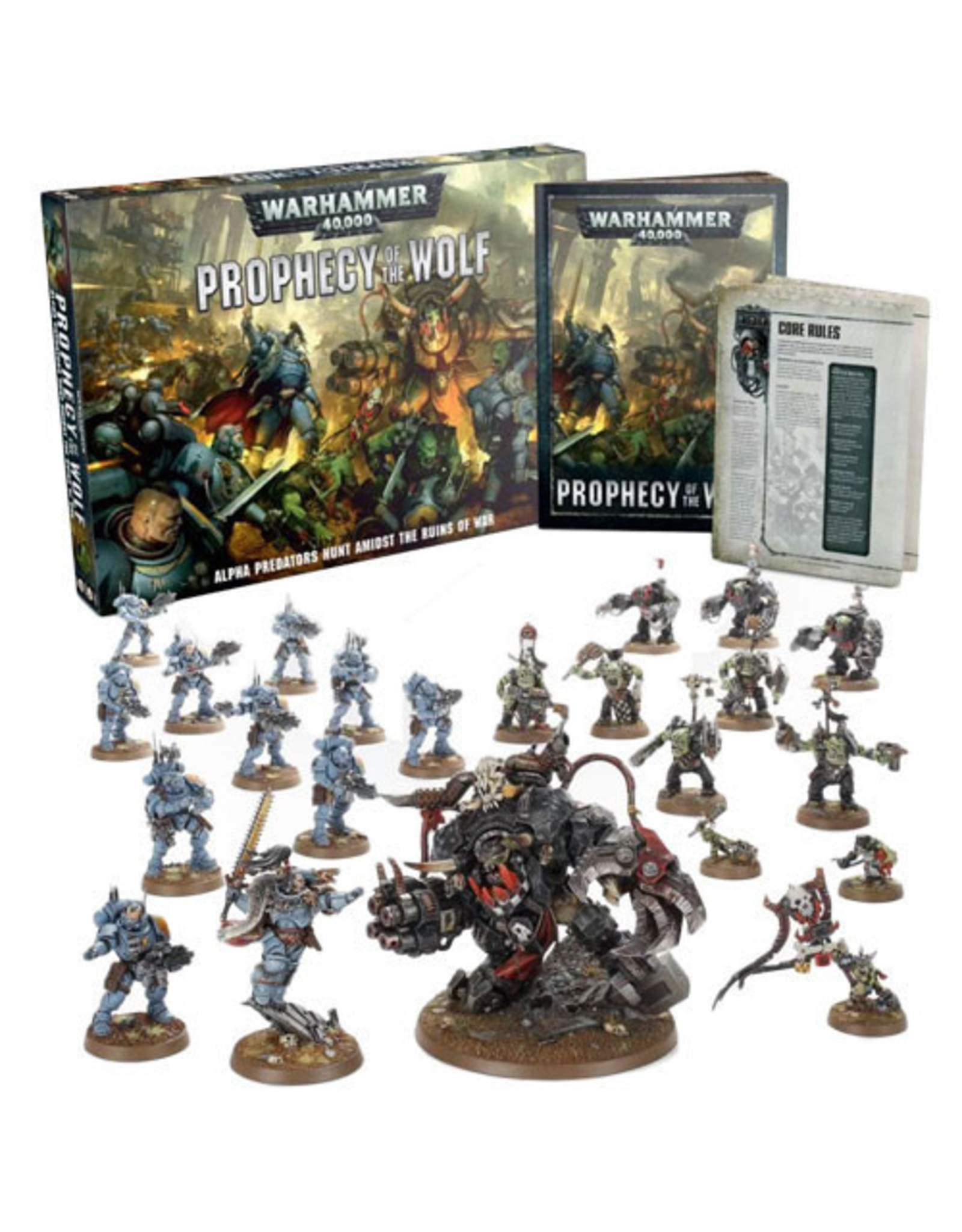 Warhammer 40K 40K: Prophecy of the Wolf