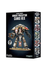 Warhammer 40K Imperial Knights: Knight Preceptor Canis Rex