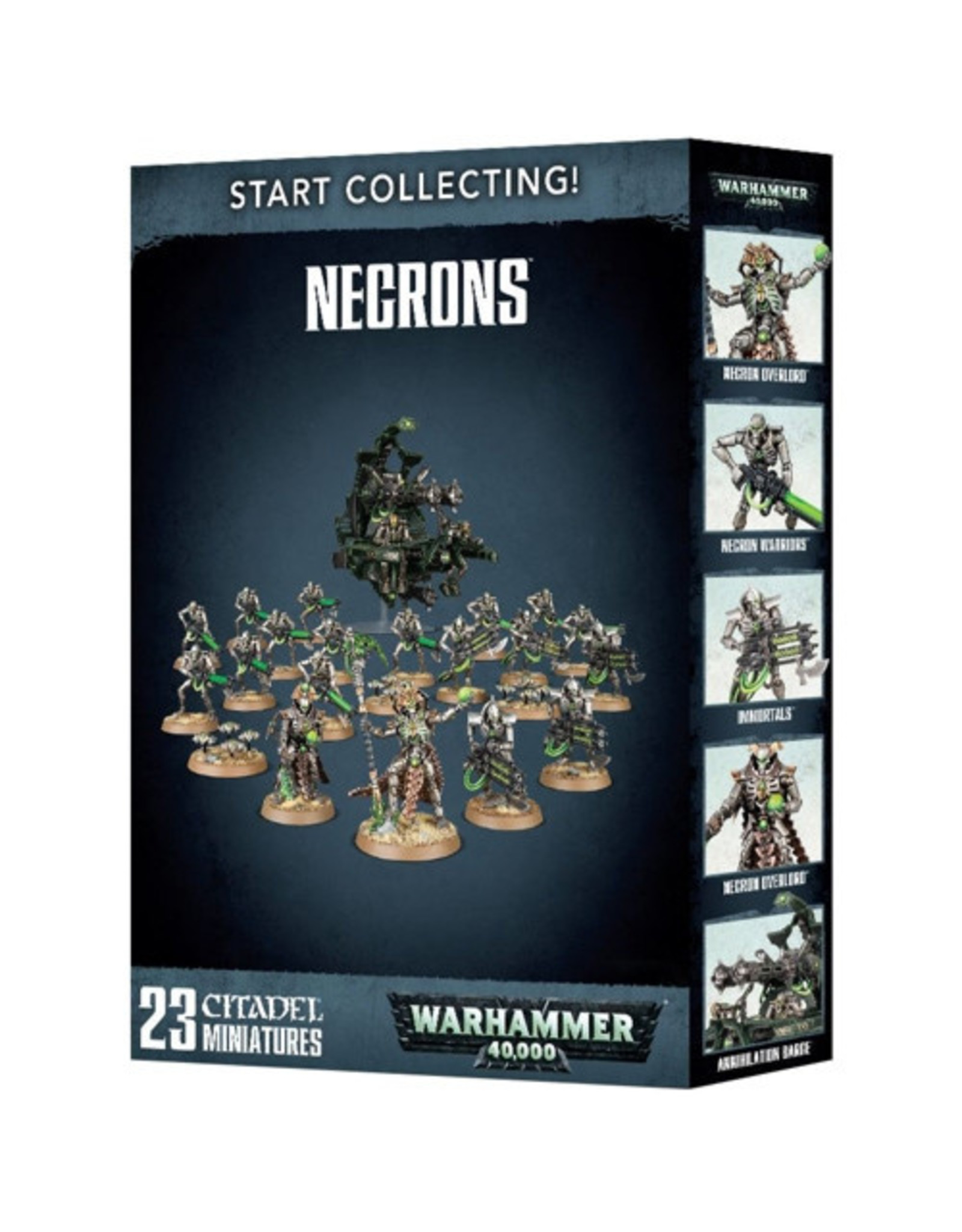 Warhammer 40K Start Collecting! Necrons