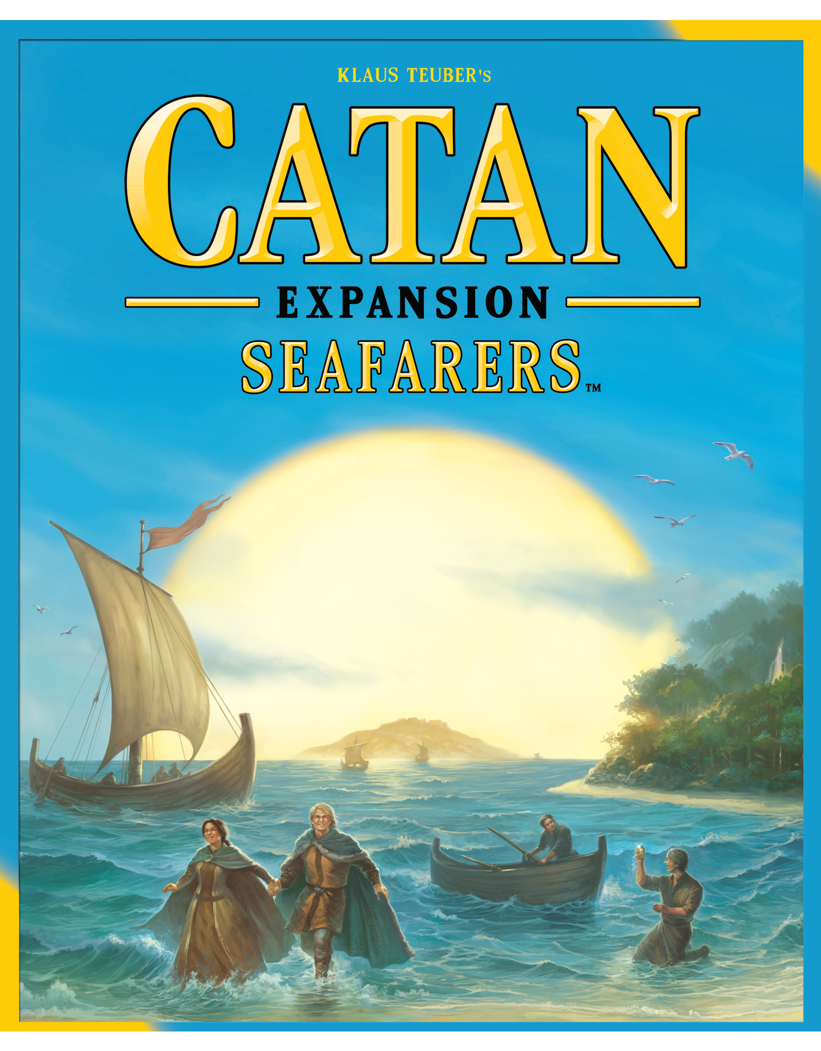 Mayfair Games Catan Seafarers