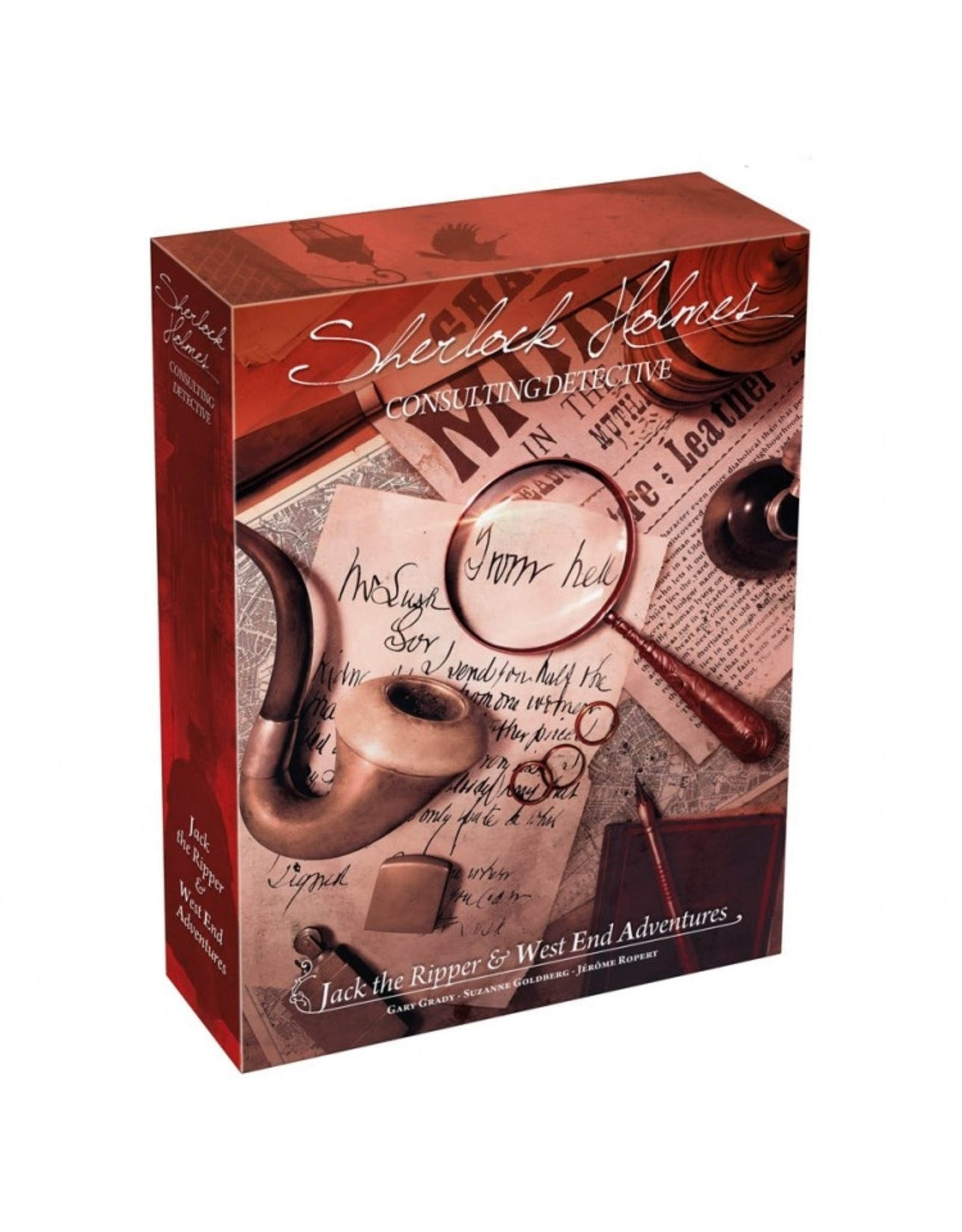 Asmodee Sherlock Holmes: Consulting Detective - Jack the Ripper