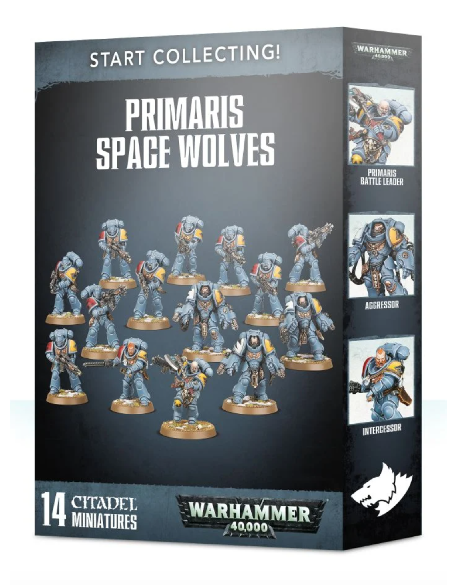Warhammer 40K Start Collecting! Primaris Space Wolves