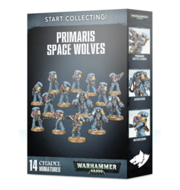 Warhammer 40K Start Collecting! Primaris Space Wolves
