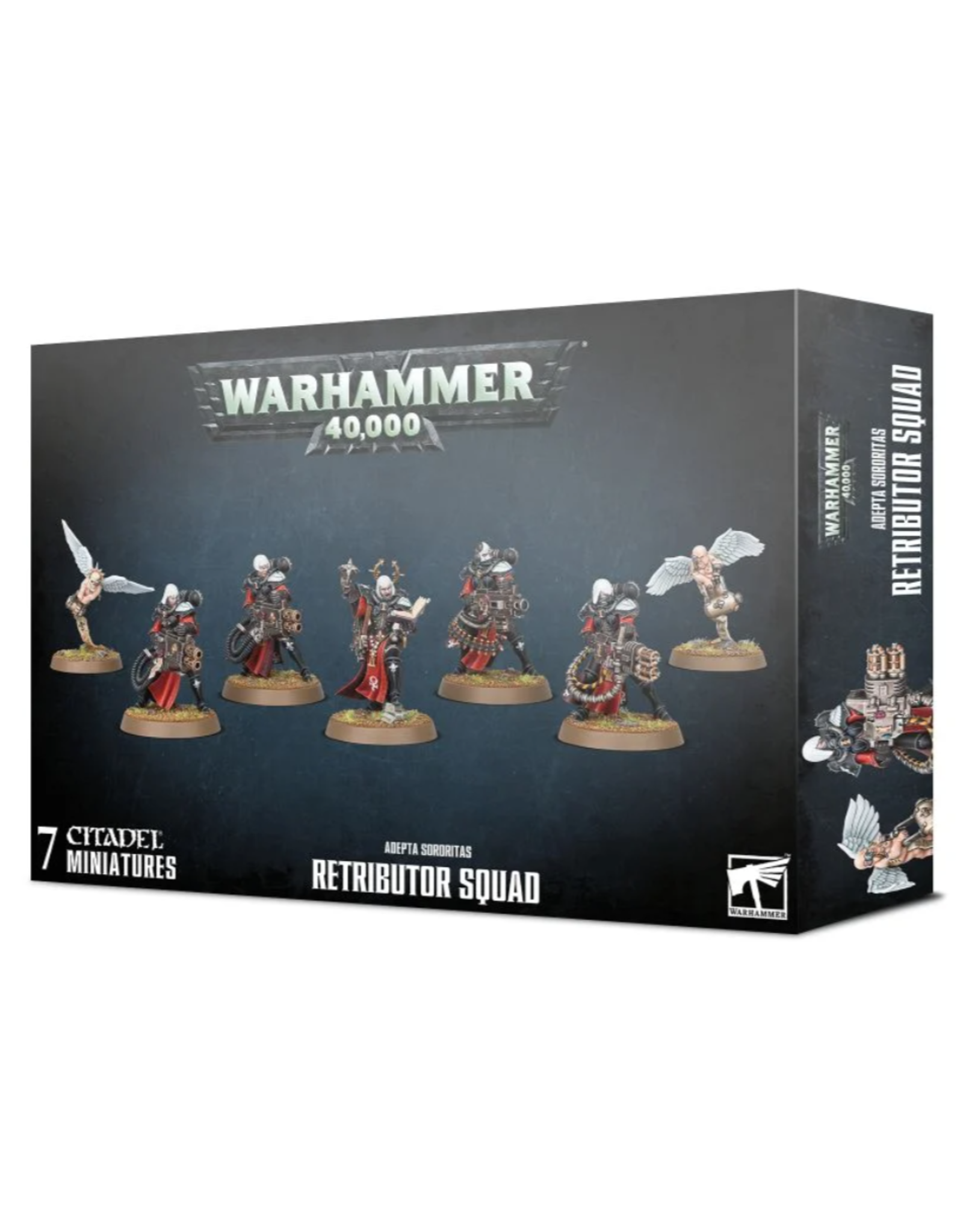 Warhammer 40K Adepta Sororitas Retributor Squad