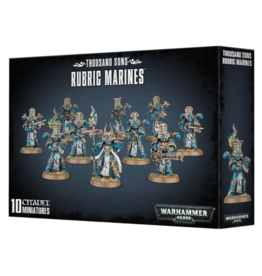 Warhammer 40K Chaos Thousand Sons Rubric Marines