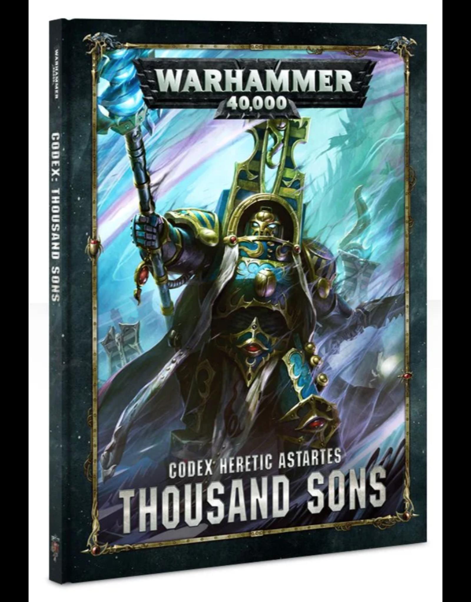 Warhammer 40K Codex: Thousand Sons (Chaos)
