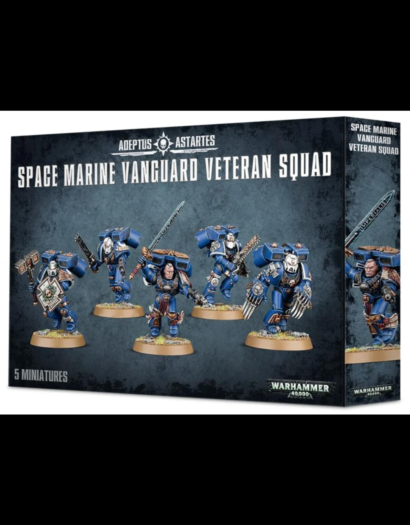 Warhammer 40K Space Marine Vanguard Veteran Squad
