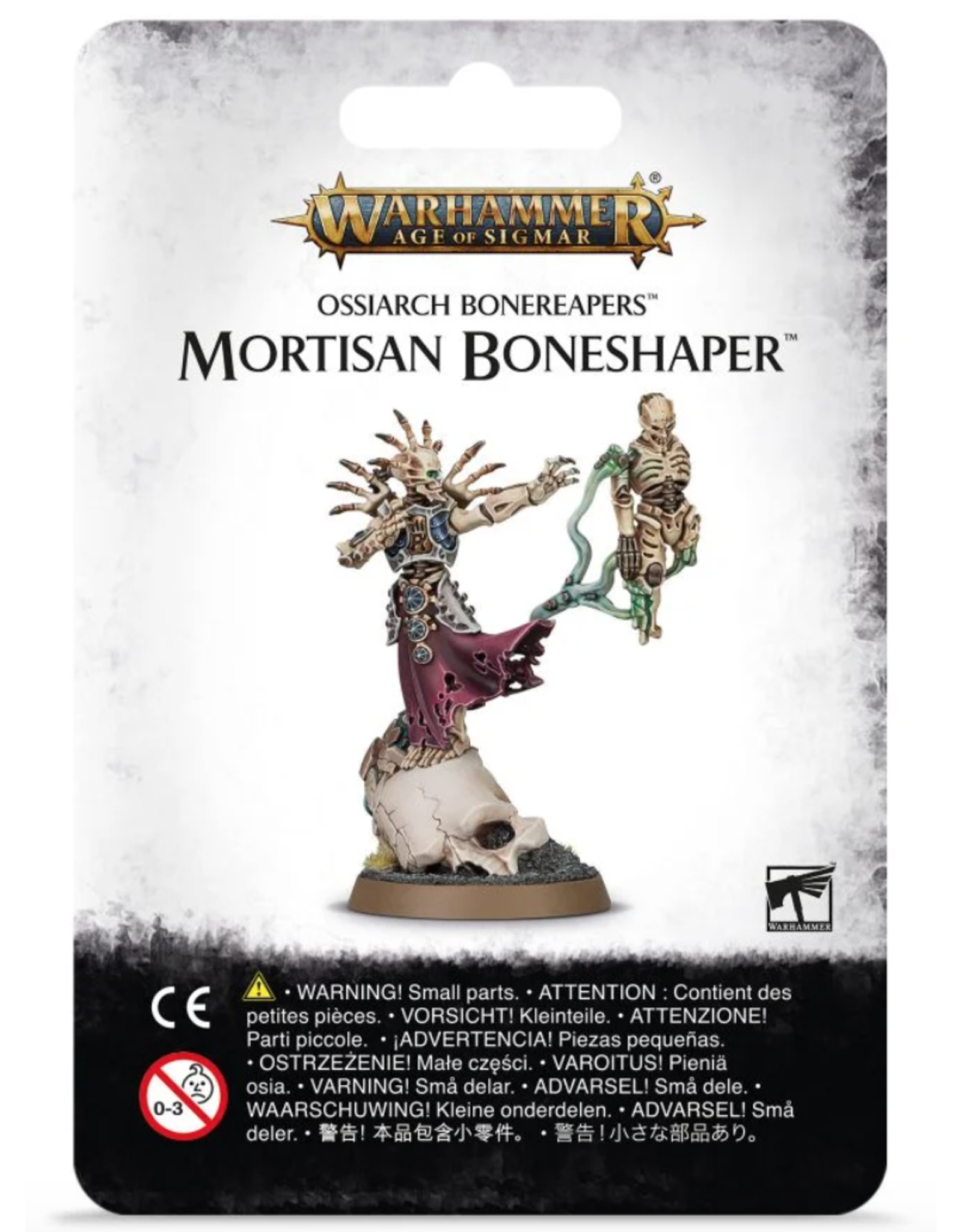 Age of Sigmar Ossiarch Bonereapers Mortisan Bones