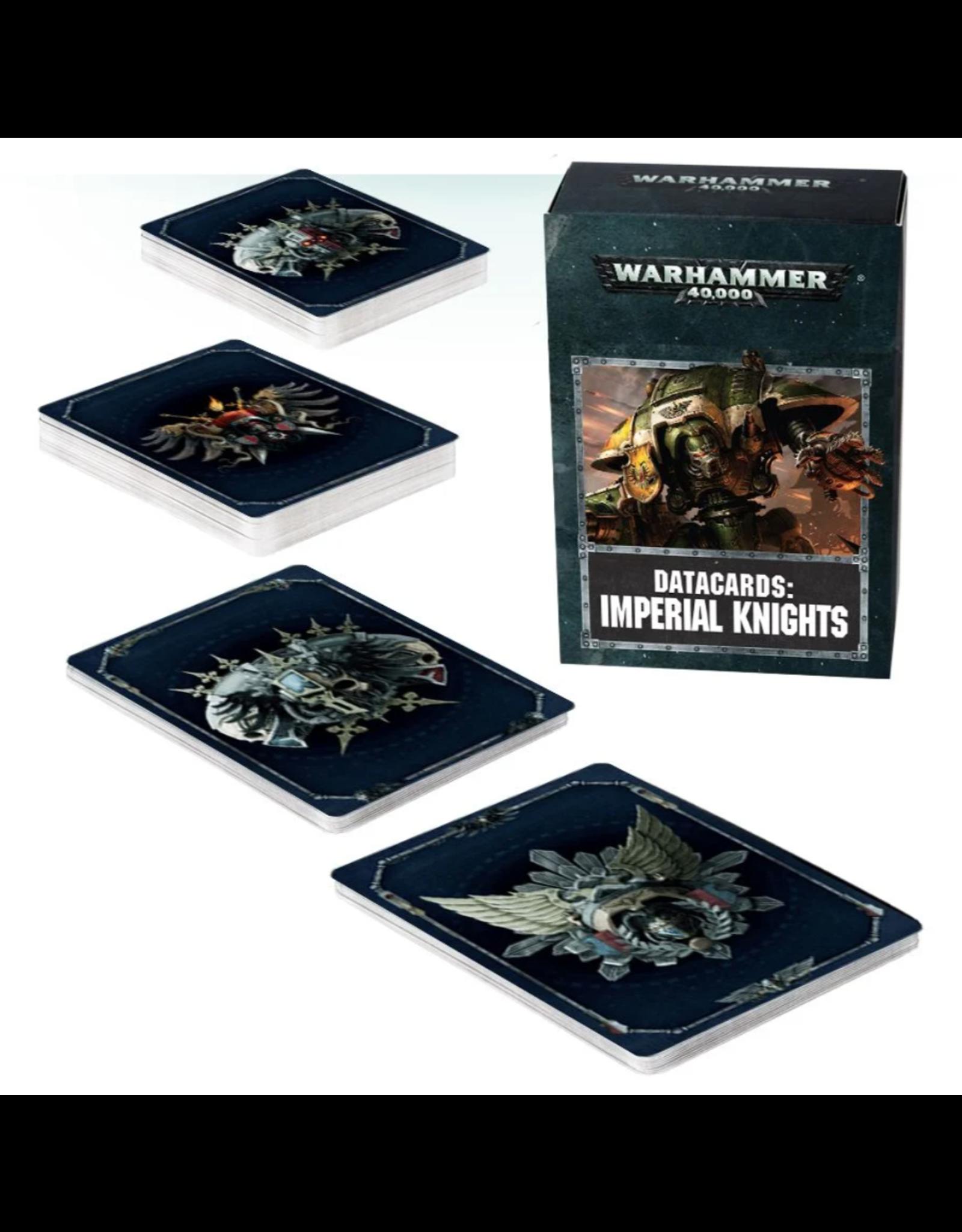 Warhammer 40K Datacards: Imperial Knights
