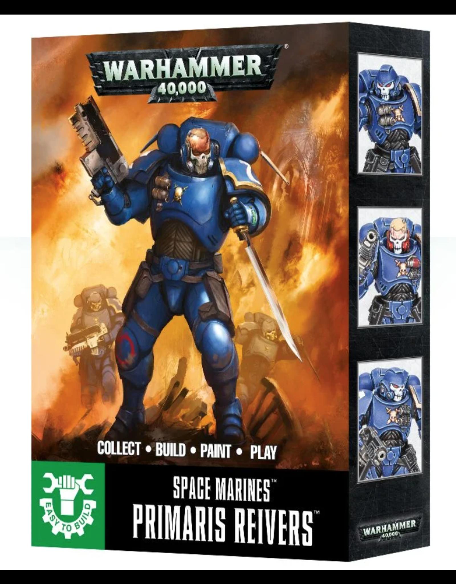 Warhammer 40K Space Marines Easy to Build  Primaris RE