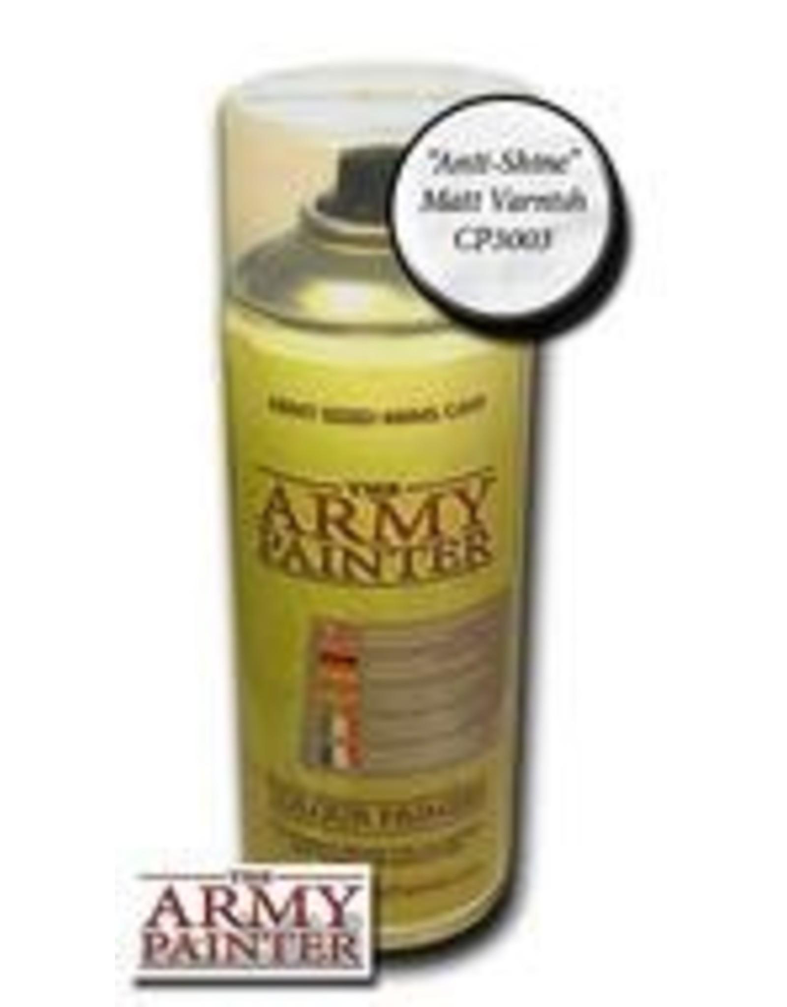 Army Painter Army Painter Spray: Anti-Shine Matte Varnish