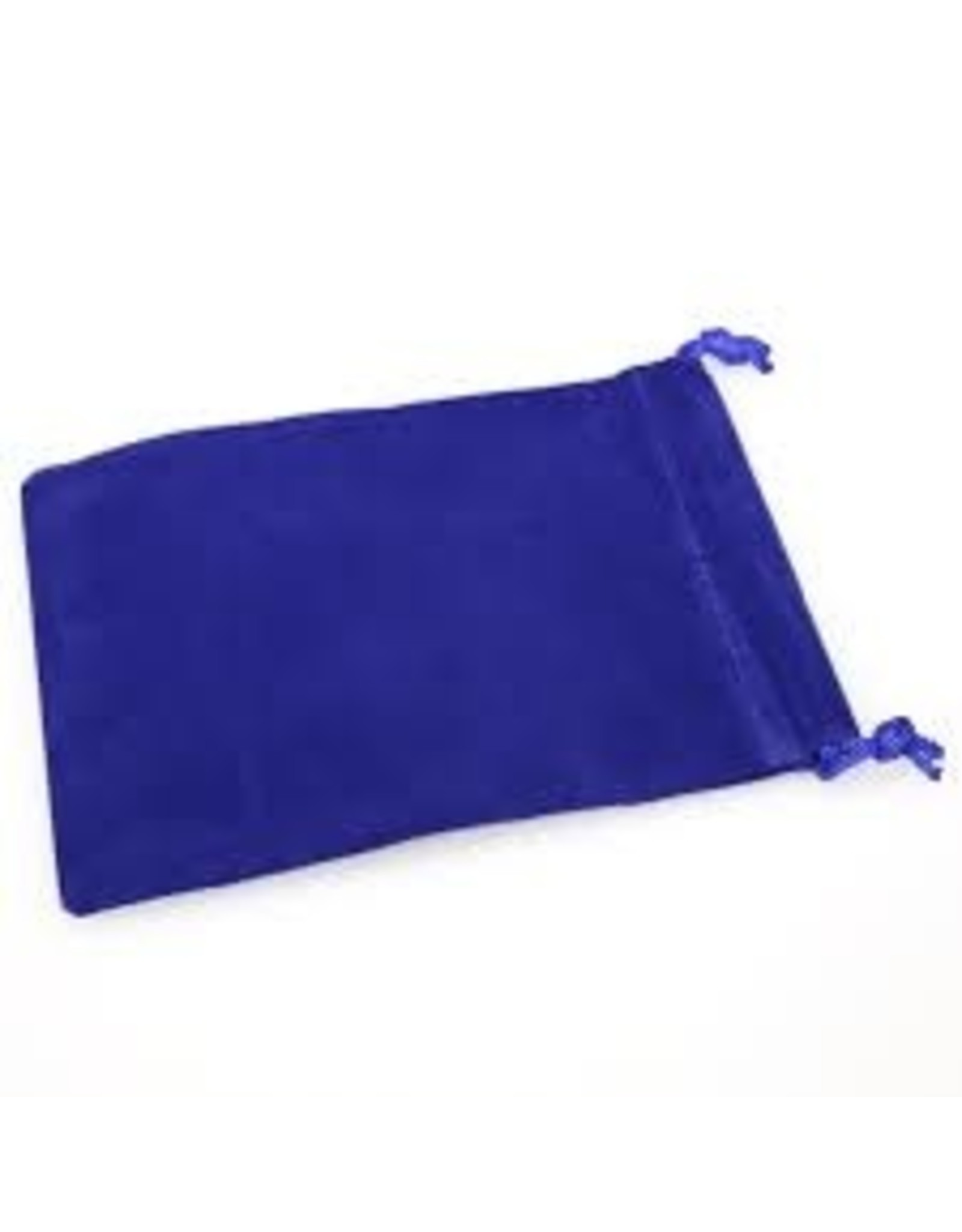 Chessex Suedecloth dice bag, sm blue