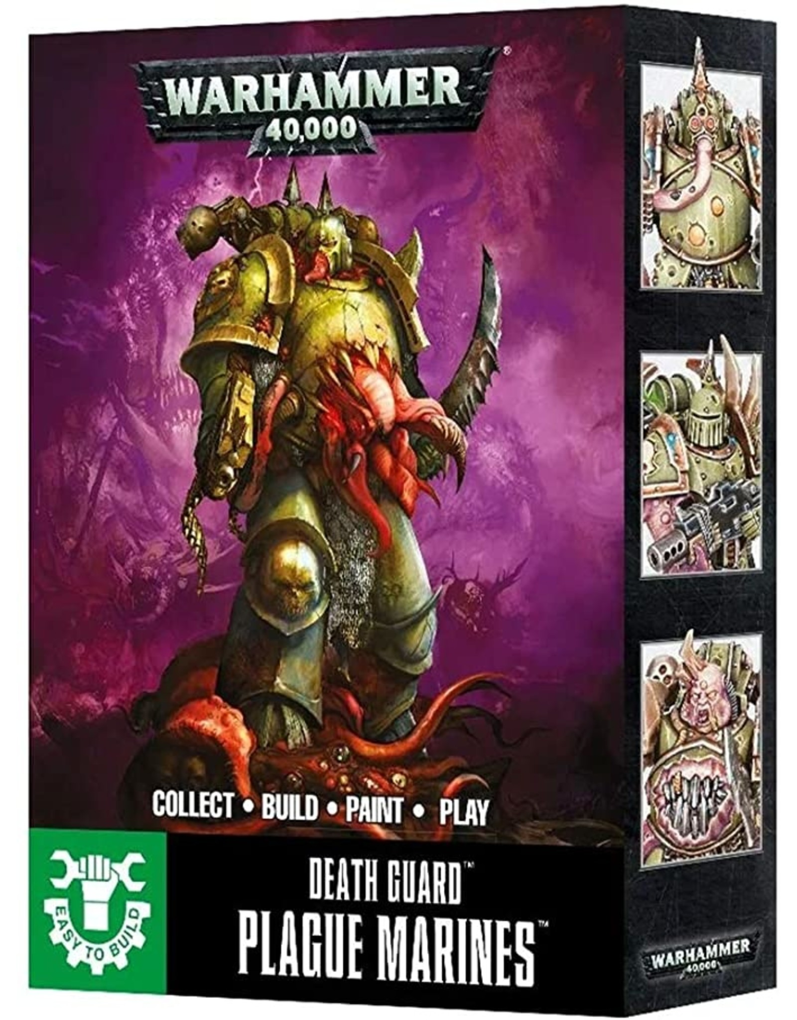 Warhammer 40K Chaos Easy to Build Death Guard Plague Maker