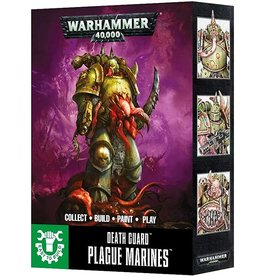 Warhammer 40K Chaos Easy to Build Death Guard Plague Maker