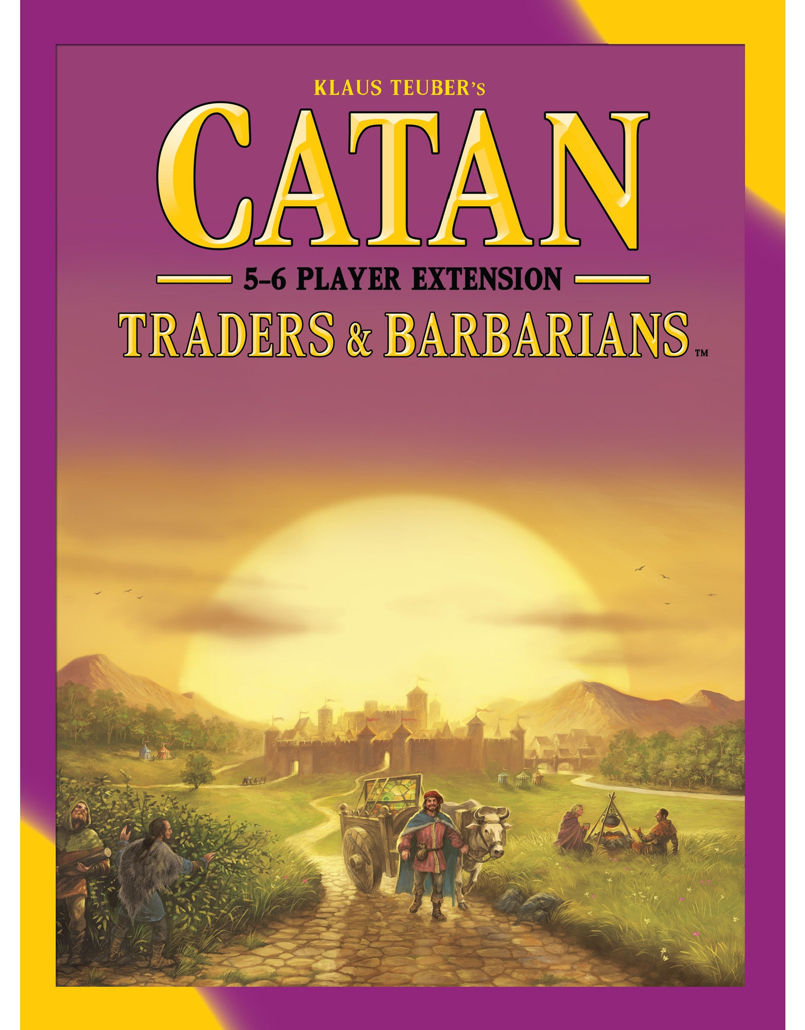 Asmodee Catan Traders and Barbarians 5-6 player expansion