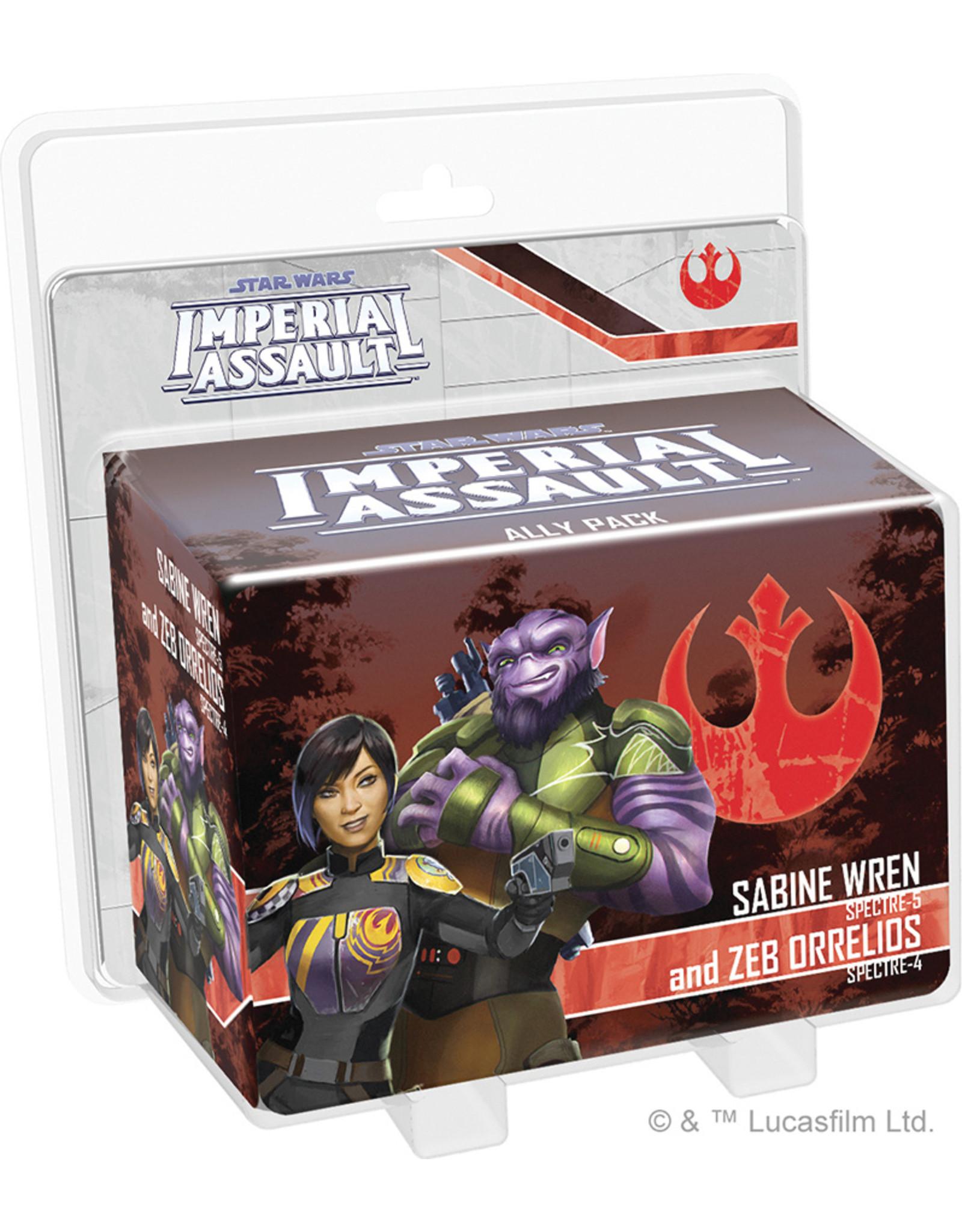 Fantasy Flight Games Star Wars: Imperial Assault: Sabine Wren and Zeb Ally Pack