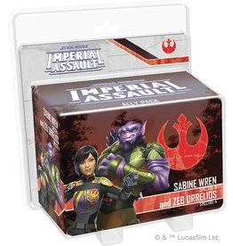 Fantasy Flight Games Star Wars: Imperial Assault: Sabine Wren and Zeb Ally Pack